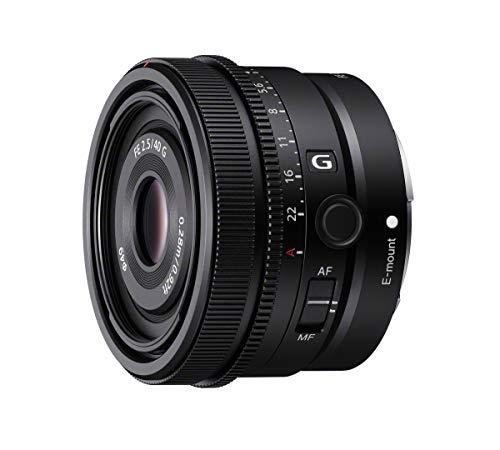 Sony SEL40F25G | Vollformat FE 40mm F 2.5 G - Premium G Serie Objektiv mit Festbrennweite