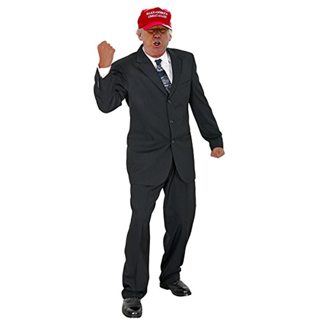 Wet Paint Printing + Design H38009V2 Donald Trump Red Hat Cardboard Cutout Standup
