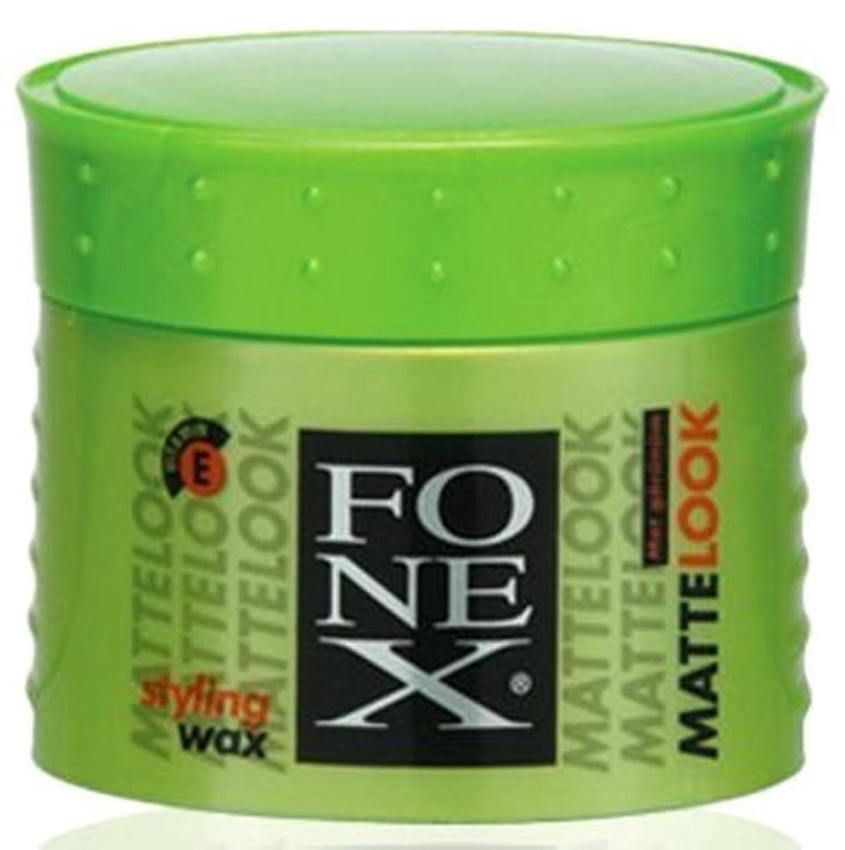 極小無効つぶやきFONEX MATTE LOOK HAIR STYLING WAX 100ML by FONEX [並行輸入品]