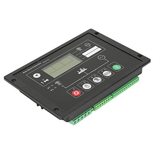 Panel de control de arranque, panel de control de arranque automático programable, monitorización remota de alarma LCD para maquinaria para grupo electrógeno para ingeniero para electricista