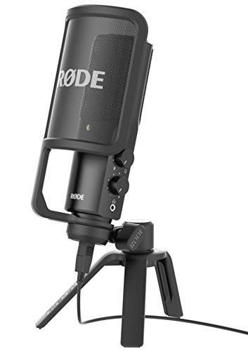 RODE - Microfono NT-USB Condes.Tripod+Filtro