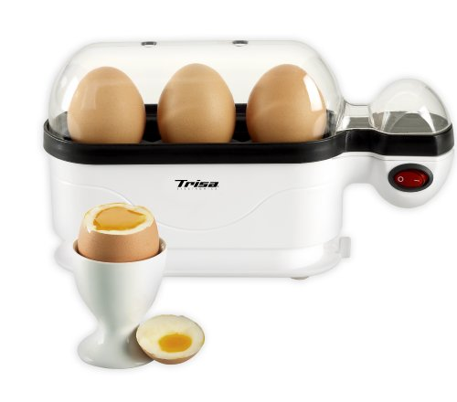 Trisa Electronics Eggolino Cuiseur à œuf, 380 W, Blanc