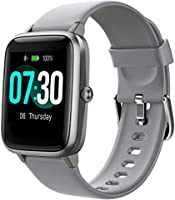 Smart Watch AIKELA Fitness Tracker Heart Rate Sleep Monitor Activity Tracker with 1.3'' Large Color Touch Screen 5ATM...
