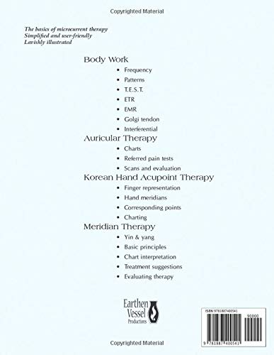 Basic Microcurrent Therapy Acupoint & Body Work Manual - 2