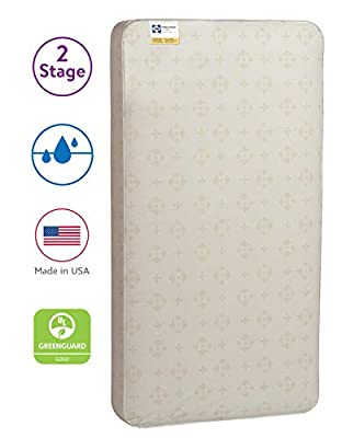 Sealy Posture 2-Stage Dual Firmness Toddler & Crib Mattress