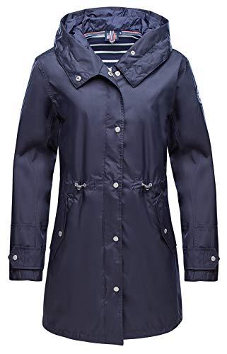 Marinepool Leonore - Cappotto da donna, Donna, Cappotto, 1003450-500-190, blu navy, L