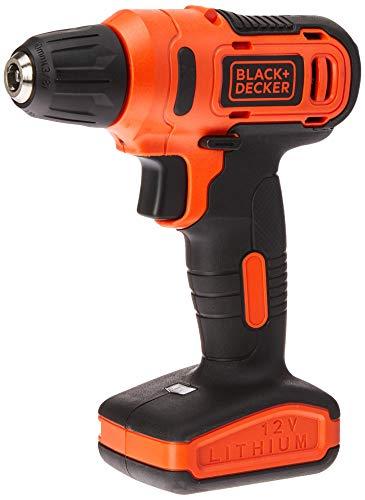Parafusadeira/ Furadeira 3/8' (10mm) 12v Velocidade Variável Reversível 31 Acessórios Black+decker