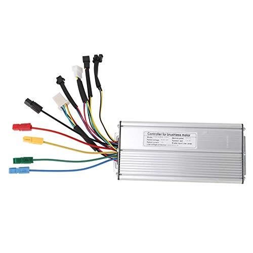 EVTSCAN Controlador sin escobillas 36V/48V 1000W/1500W Controlador de Motor sin escobillas para...