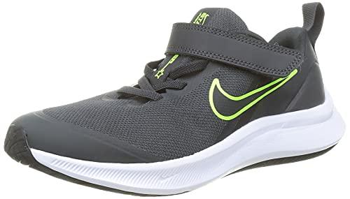 Nike Star Runner 3 (PSV), Zapatillas para Correr Unisex niños, Dk Smoke Grey/Black-Black, 34 EU