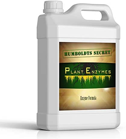 Humboldts Secret Plant Enzymes – Best Plant and Root Enzymes – 7000 Active Units of Enzyme per Milliliter – Quality Plant Food and Plant Fertilizer – Highly Concentrated – 2 Ounce