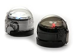 Ozobot - Smart Programmable Robot Two Pack (Crystal White & Titanium Black) Model: OZO-010102-0102