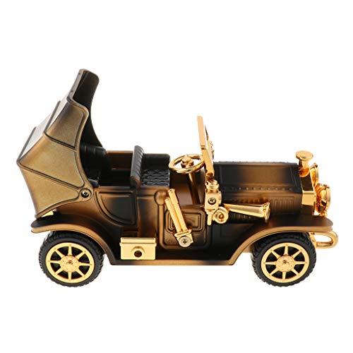 Homyl Boîte à Musique Souvenir Vintage Cadeau Créatif - Voiture - Bronze