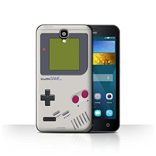 Hülle Für Huawei Y5 /Y560 Spielkonsolen Nintendo Game Boy Design Transparent Ultra Dünn Klar Hart Schutz Handyhülle Case