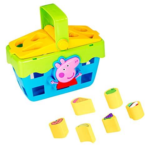 HTI Peppa Pig Shape Sorter Toy Picnic Set | Great Kids Toddler Interactive...