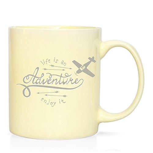 We Love Home - Taza Mug de Porcelana 32 cl. Estilo nórdico Modelo Adventure