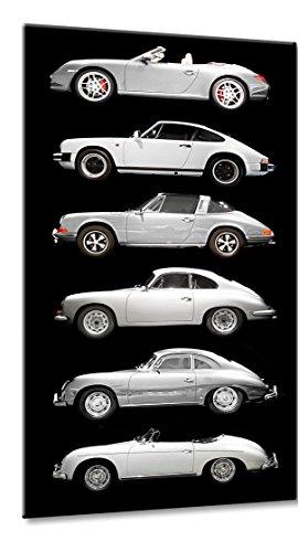 Fine-Art-Manufaktur Porsche 911 356 Silber Legende Best of | Porsche 911 356 Silber Best of | Farbe: schwarz | Rubrik: Porsche + Auto Bilder