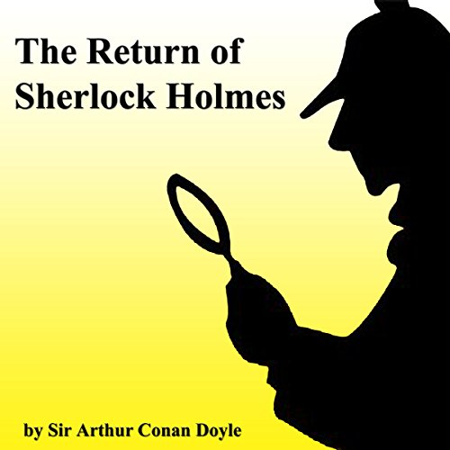 The Return of Sherlock Holmes (Unabridged Selections) audiobook cover art
