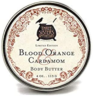 Three Sisters Apothecary Body Butter Blood Orange & Cardamom