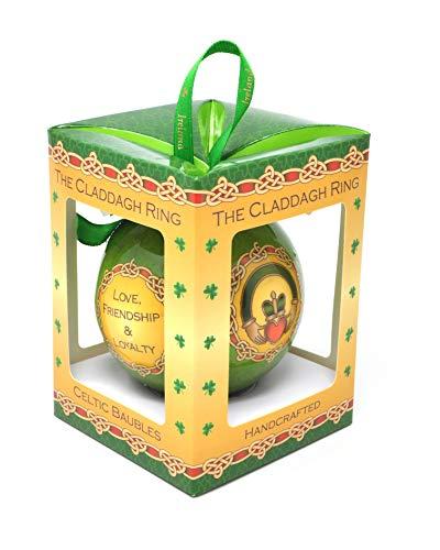 Royal Tara Claddagh Ring Irish Christmas Bauble Ornament
