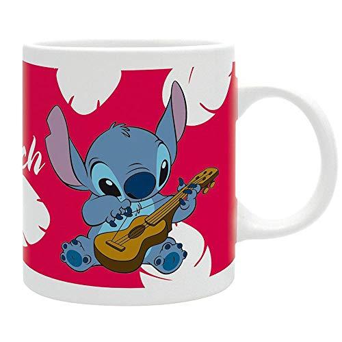 Lilo & Stitch - Tasse Kaffeebecher - Ohana Means - keramik - Geschenkbox
