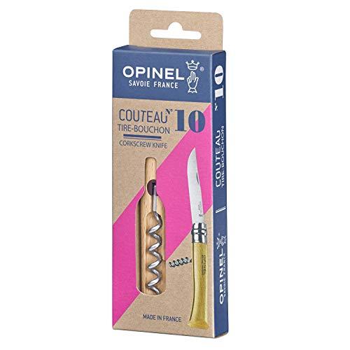 OPINEL(オピネル)ステンレススチール#10コークスクリューナイフ41510【国内正規商品】