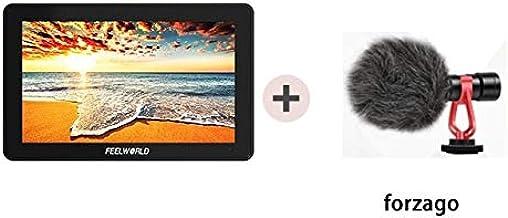 شاشة عرض FW759 7 بوصة sdi DSLR كاميرا الميدان دي اس ال ار 4K HDMI AV IPS HD 1280x800 مساعد فيديو شاشة LCD من أجل سوني لنيكون كانون AHPK-4000511462074-003