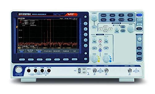 GW Instek MDO-2202EX - Osciloscopio mixto con DMM y PSU, 2CH, 200 MHz