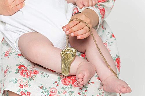 Collar con la Huella de tu Bebé