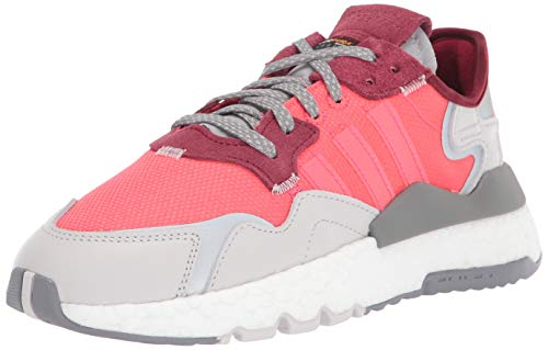 adidas Originals Nite Jogger W, Zapatos para Senderismo para Mujer, Shock Red Shock Rojo Gris Uno, 43.5 EU