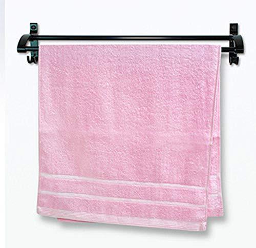 Fuduoduo Toallas de Baño de 100% Algodón,Toalla Absorbente Suave de algodón Puro para Adultos 70 * 34-Pink 3pcs,Juego De Toallas Supersuaves