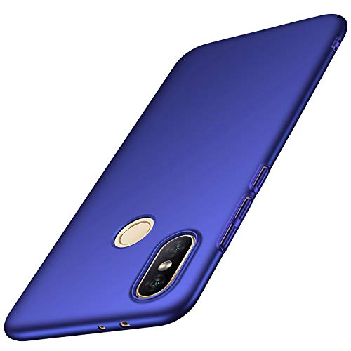 Avalri Funda Xiaomi Mi A2 / Xiaomi Mi 6X, Diseño Minimalista Estuche Rígido Ultra Delgado de PC a Prueba de Golpes Resistente a Rasguños Cover para Xiaomi Mi A2 / Mi 6X (Oro Rosa Liso)