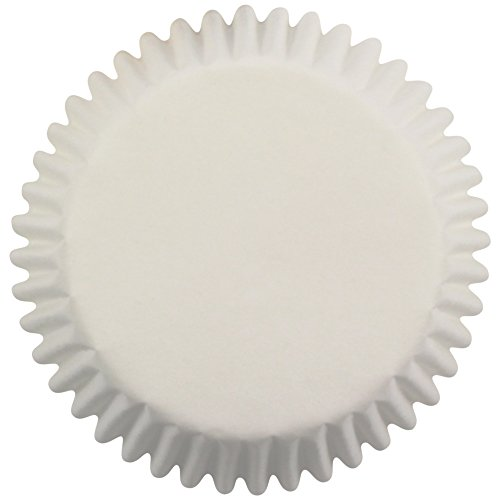 PME White Paper Cupcake Cases, Standard Size, Pack of 60