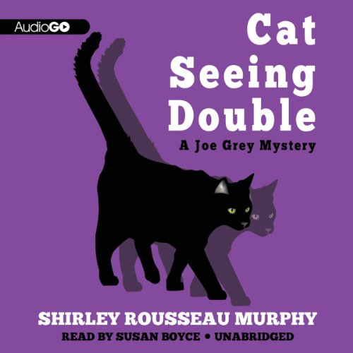 Cat Seeing Double audiobook cover art