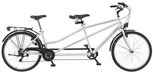 Coppi Bicicletta 26 Tandem Bianco