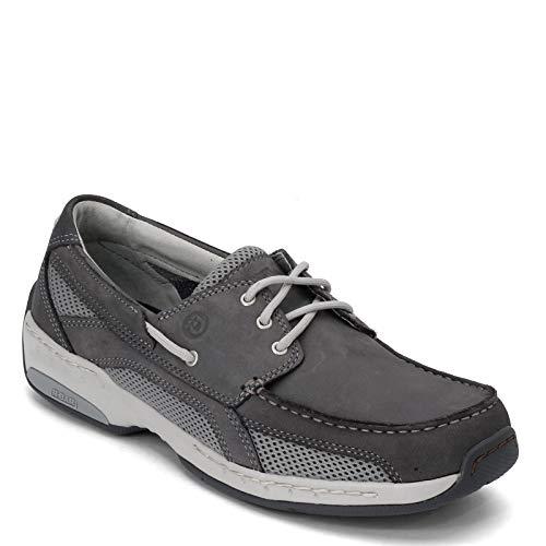 Dunham Captain Boat Zapato para hombre, (Gris (Grey Tonal)), 43 EU