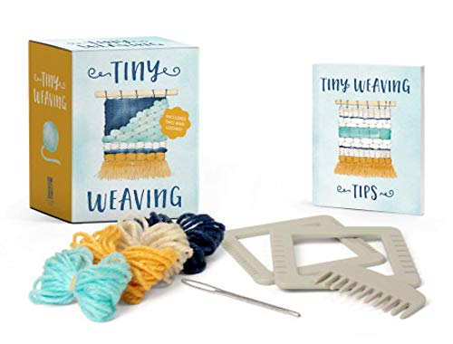 Tiny Weaving: Includes Two Mini Looms! (Rp Minis)