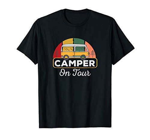 Camper Wohnwagen Campingbus & Campen Wohnmobil Geschenk T-Shirt