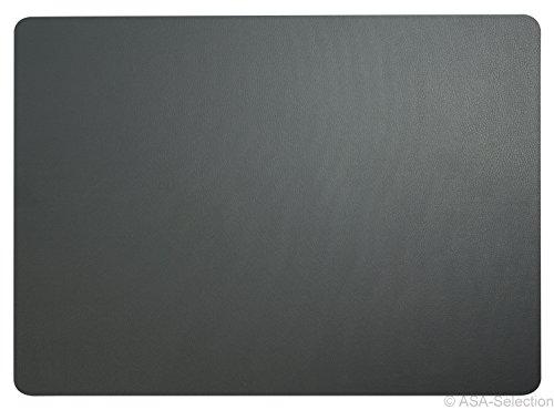 ASA Selection Tischset 33x46cm in Lederoptik Basalt (4 Stück)