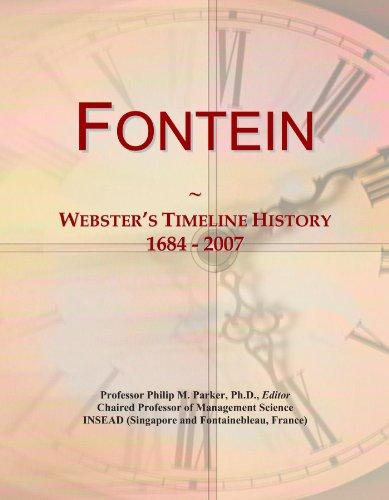 Fontein: Webster's Timeline History, 1684 - 2007
