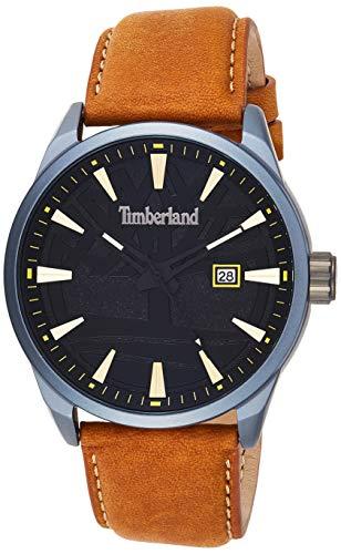 Timberland Herren Analog Quarz Uhr mit Leder Armband TBL15576JLU.02