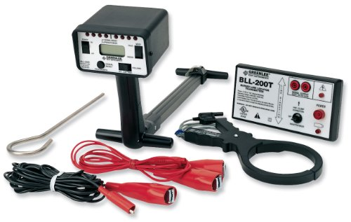 TEMPO Communications BLL-200 Buried Line Locator – Locate Buried Wires or Cables (formerly Greenlee Communications)
