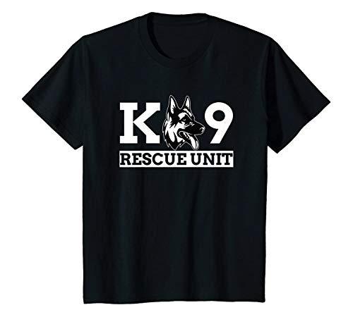 Shirt for Costume K9 Rescue Unit K9 Police Dog K9 Handler