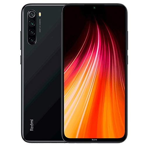 Xiaomi Redmi Note 8 64GB + 4GB RAM, 6.3' LTE 48MP Factory Unlocked GSM Smartphone - International Version (Space Black)