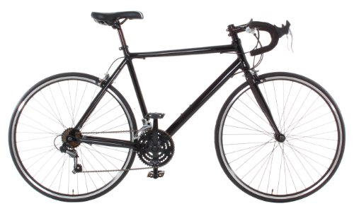 Vilano Aluminum Road Bike Large (58cm) Commuter Bike Shimano 21 Speed 700c, Black
