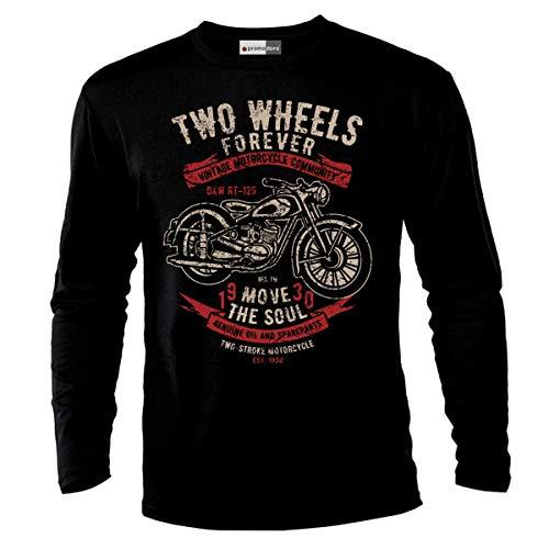 DOPEHOUSE T Shirt Camiseta Evel Knievel Motorcycles Stuntman Biker Motorrad Motocross
