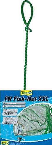 Tetra FN Fish-Net Größe XXL ((hochwertiges Fangnetz aus reißfestem Nylon für Aquarien, Netzgröße 20 cm, ermöglicht das leichte und schonende Herausfangen von Fischen)