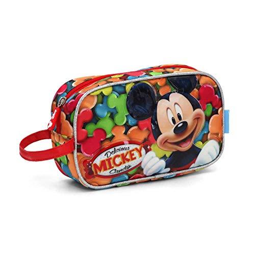 Mickey Mouse Delicious Trousse de Toilette, 21 cm, Rouge (Rojo)