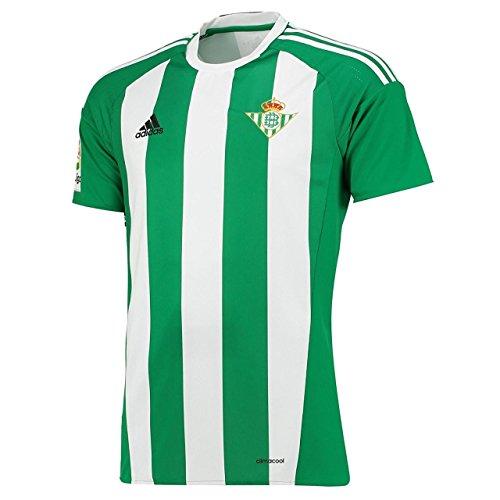adidas Herren Real Betis Balompié Sevilla 2016/17 Home Trikot, S