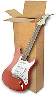 EcoBox 18 x 6 x 45 Inches, Electric Guitar Shipping Moving Corrugated Box Carton (E-4237)