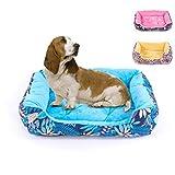 Cama para Mascotas Mascota Lazy Couch Kennel Acolchado de algodón cálido y cómodo Entrada fácil Adecuado para Perros Grandes y medianos de tamaño Mediano